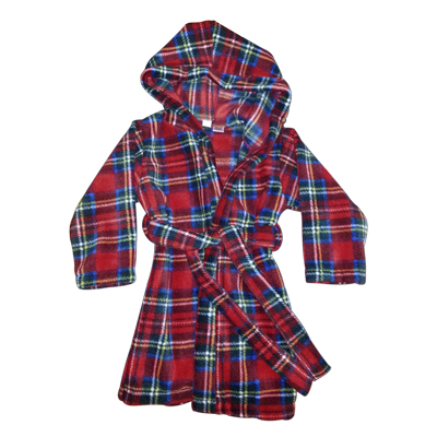 Tartan Housecoat for Children